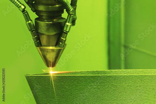 Fotografia  3D printer printing metal