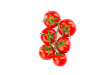 Bunch Of Cherry Tomatoes Isola...