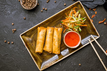 Fried Spring Roll , Vietnamese Food