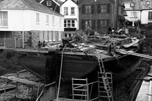 Repair Of Thames Barge 'Vigila...