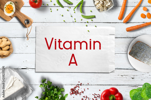 Photo Vitamin A reiche Lebensmittel