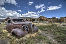 Abandoned Car In Bodie