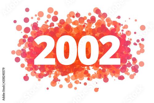 Tela Jahr 2002 - dynamische rote Punkte