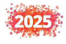 Jahr 2025 - Dynamische Rote Punkte