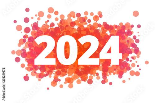 Fotografia  Jahr 2024 - dynamische rote Punkte