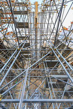 Scaffolding And Steel Pipes Structure