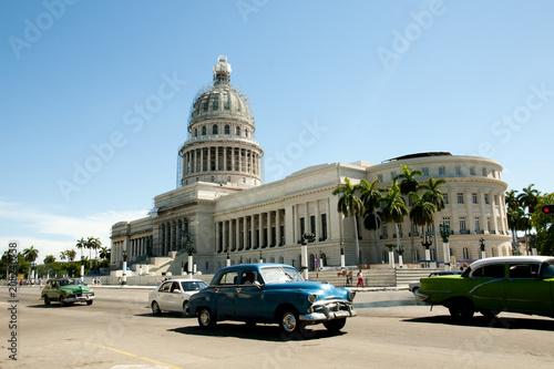 Poster de jardin Havana Capitol Building - Old Havana - Cuba
