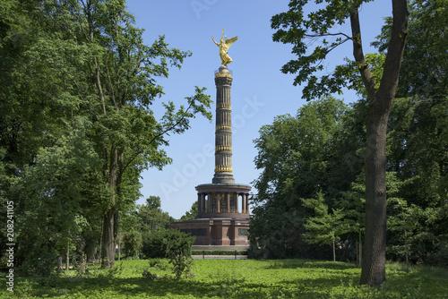 Plakat Berlin Kolumna Zwycięstwa w Berlinie, Niemcy