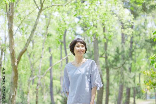 Photographie  女性 ミドルエイジ 笑顔