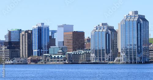 Obraz Halifax, Nova Scotia city center on a beautiful day - fototapety do salonu