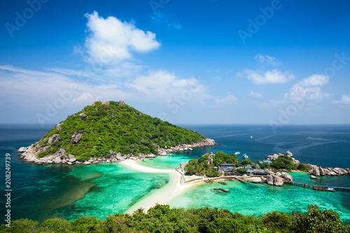 Foto op Plexiglas Asia land Koh Tao island in Thailand