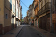 A street in Arab quarter of Perpignan in the center of the city, France