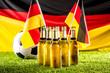 canvas print picture - Weltmeister BIER ( Deutschland )