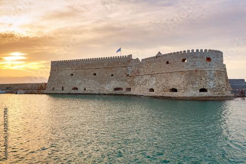 Keuken foto achterwand Historisch geb. Heraklion. The old Venetian fortress.