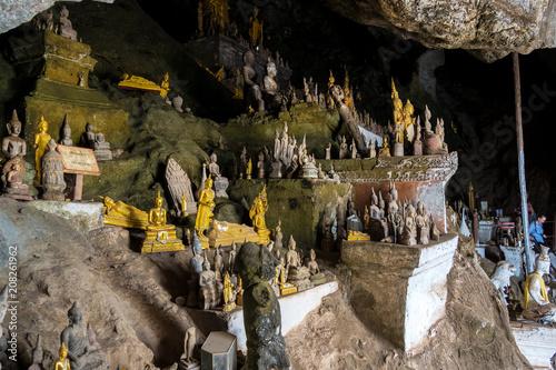 Fotografia Laos - Luang Prabang - Pak Ou Höhlen