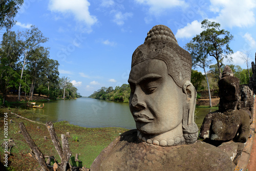 Photo Stands Place of worship CAMBODIA SIEM REAP ANGKOR THOM SOUTH GATE