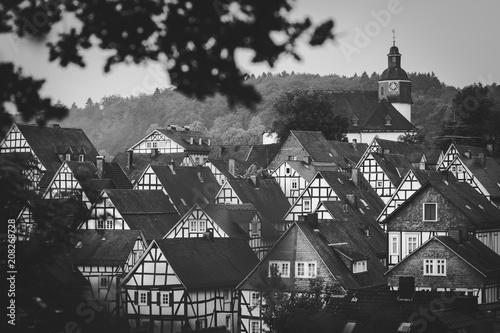 Photographie  Historischer Stadtkern Freudenberg