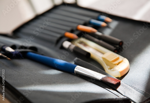 Vászonkép  Tools for artist