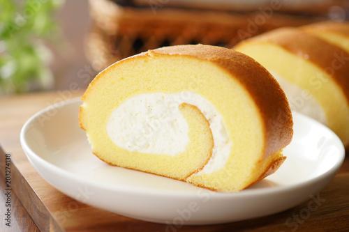 Fotomural  ロールケーキ