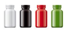 Blank Gloss Bottles Mockups Fo...