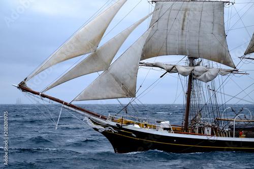 Norwegen, Nordsee, vor Kristiansand, Tall Ship Race, Großsegler © JM Soedher