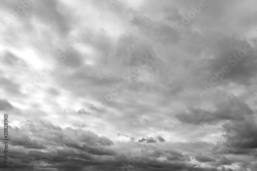 Garden Poster Heaven Голубое небо и облака