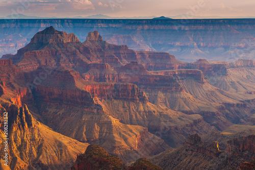 Foto op Plexiglas Arizona Sunset over the Grand Canyon, North Rim.