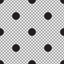 Vector Uniform Grid Fishnet Ti...