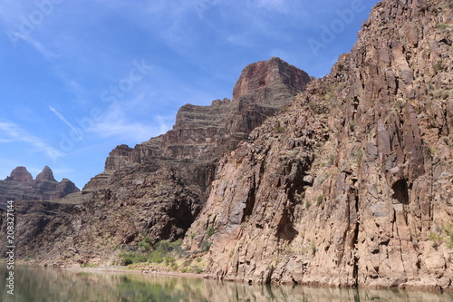 Tuinposter Zalm Grand Canyon