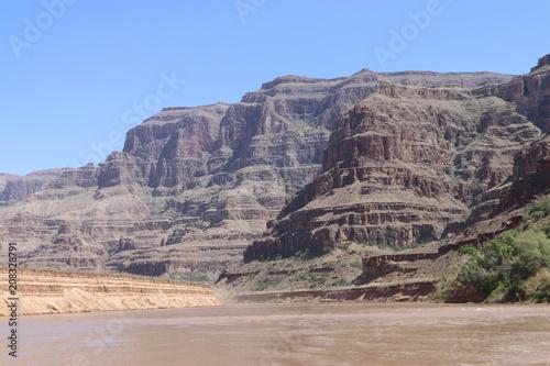 Poster Donkergrijs Grand Canyon Arizona
