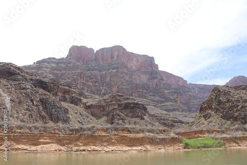 Fotobehang Wit Grand Canyon Arizona
