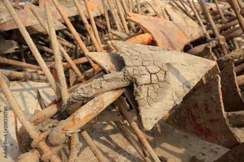 Keuken foto achterwand Schip iron anchor