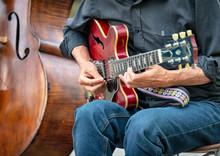 Guitar Player, Central Park