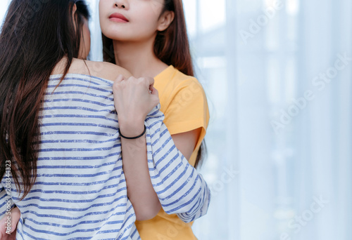 Lesbian pussy bumping vids