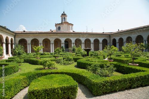 Keuken foto achterwand Historisch geb. Mantova, giardino palazzo Te
