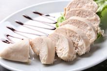 Sliced Boiled Chicken Fillet O...