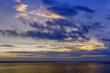Sunset on Ladoga lake, Russia