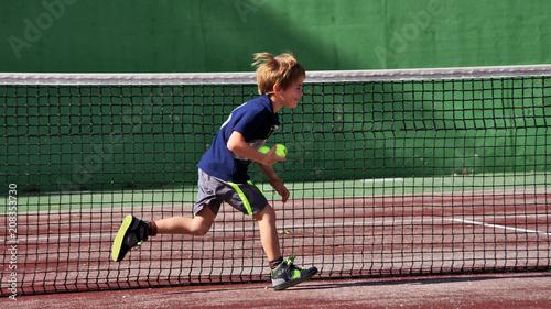 tennis - ramasseur de balles
