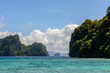 Islands in the sea. El Nido Palawan, Philippines