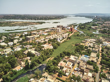 Aerial Drone View Of Niarela Q...