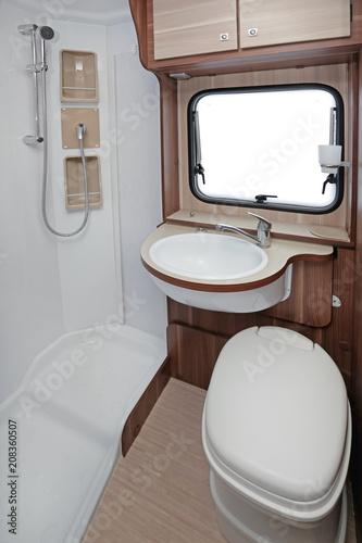 Camper WC Shower