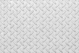 White diamond plate texture and seamless background - 208365965