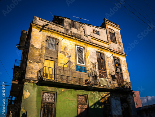 Havana street Wallpaper Mural
