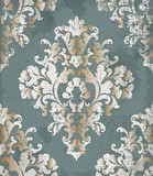 Vintage Baroque style background Vector. Luxury Delicate Classic ornament. Royal Victorian imperial decors - 208392565