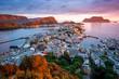 Alesund - the tourist city of Norway