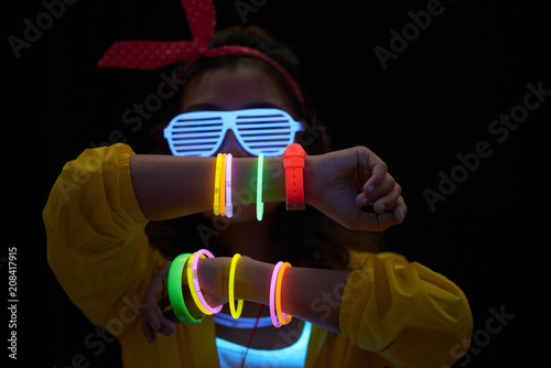 Fotomural  Neon accessory