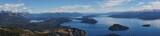 Fototapeta Do pokoju - panorama of the mountains by bariloche