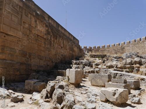 Fotografia  Grecja.Rodos.Lindos.Akropol