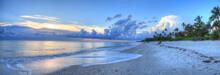 Sunset Over Ocean On Naples Be...