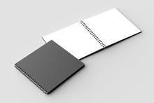 Spiral Binder Square Notebook ...